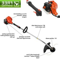 ECHO 2 Cycle 21.2 cc Curved Shaft Gas Trimmer String Trimmin