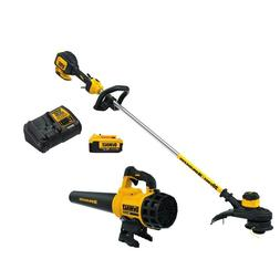Electric Leaf Blower Weed Trimmer Cordless Kit Dewalt 20v w