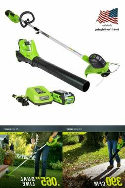 g max 40v cordless string trimmer