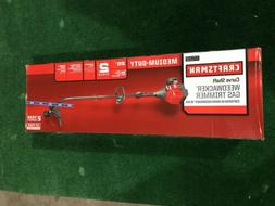 CRAFTSMAN GAS POWERED 25CC 2-CYCLE CURVED SHAFT WEEDWACKER T