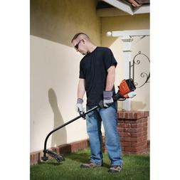 Gas Powered String Trimmer Lightweight Heavy Duty Cordless 1