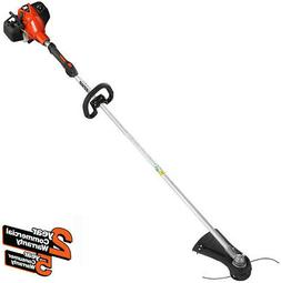 Gas String Trimmer 25.4 cc Gas 2-Stroke Cycle Straight Shaft