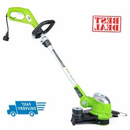 "GreenWorks Corded 15"" Electric Trimmer Edger Weed Eater Gras"