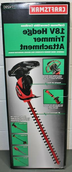 "Craftsman Hedge Trimmer Attachment #74290, 20"" Dual-Action B"