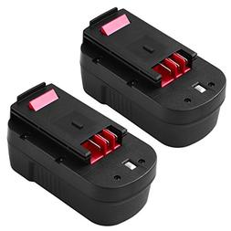 HPB18 3.0Ah Ni-Mh Replace for Black and Decker 18V Battery H