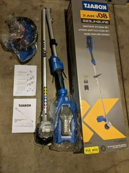 KT Kobalt 80-Volt Max 16-in Straight Cordless String Trimmer