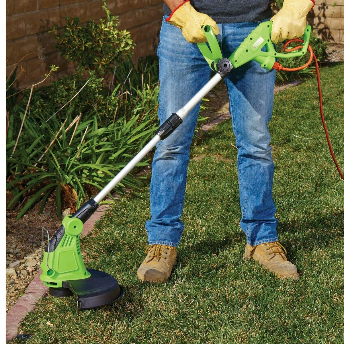 "13"" Extendable Trimmer Eater Lawn"
