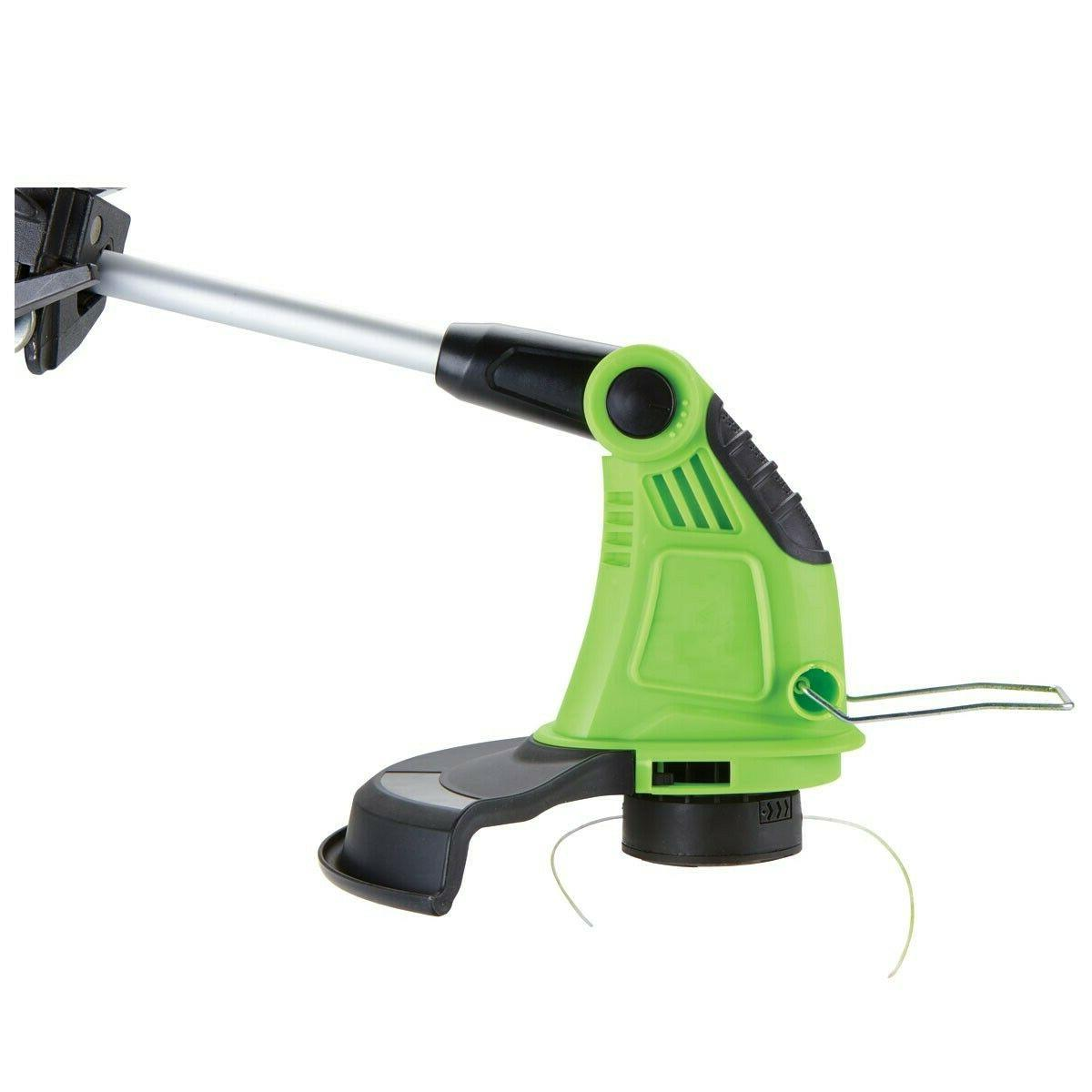 "13"" Extendable String Trimmer Eater Lawn"