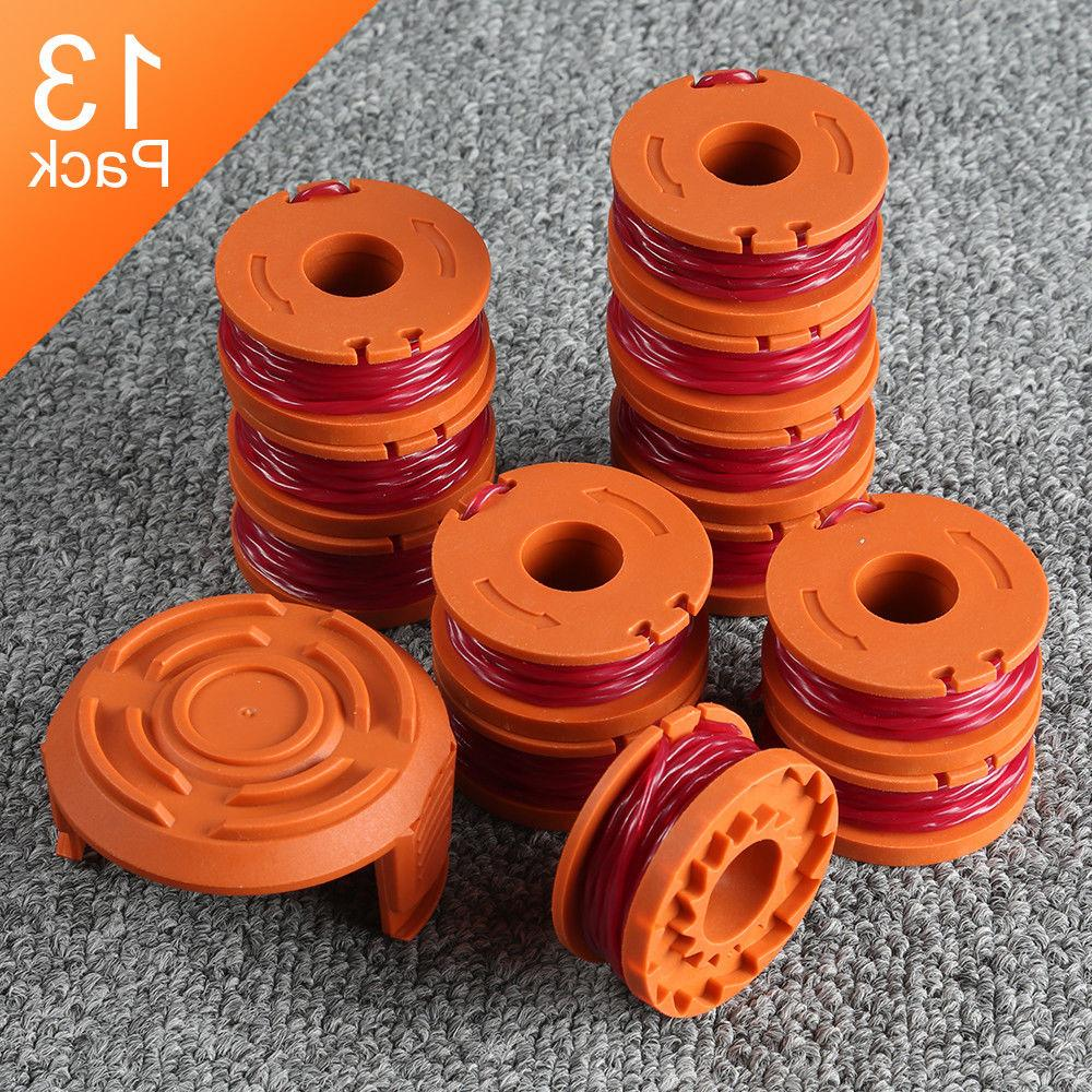 13 pack replacement spool line string trimmer