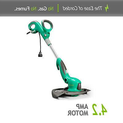 Weed Eater Trimmer 14 in Corded Cutter Adjustable Grass