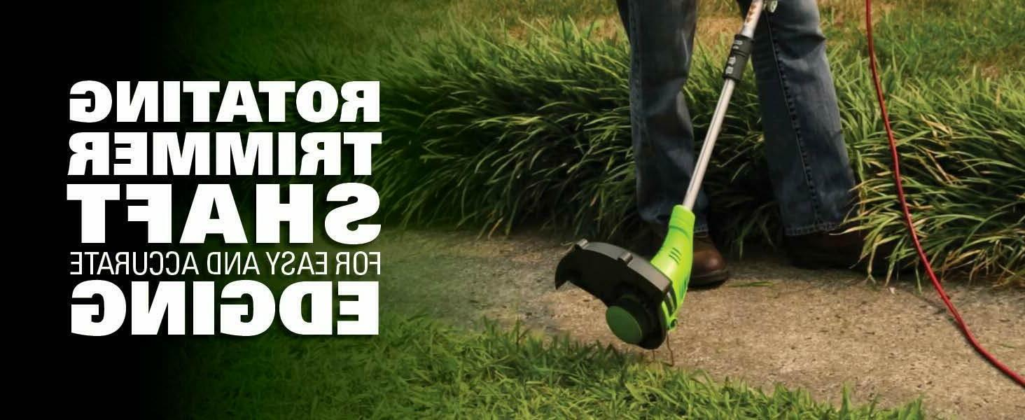 "Corded String Trimmer 15"" Edger Eater Grass Design"