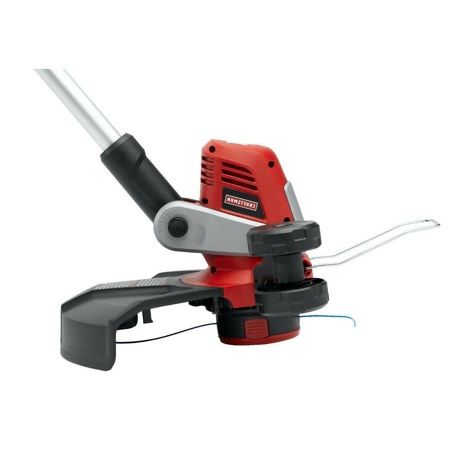 15 electric corded line trimmer weed eater