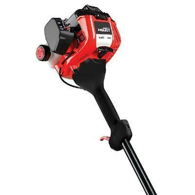 Gas Curved Shaft Trimmer 2-cycle Dual Bump Head Garden Weed