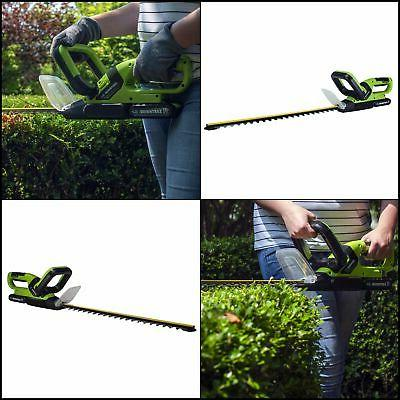 "20"" Dual Hedge Trimmer 2.0Ah Battery/Fast Charger Cordless"