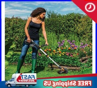 20V Cordless String-Trimmer Weed Wacker Edger