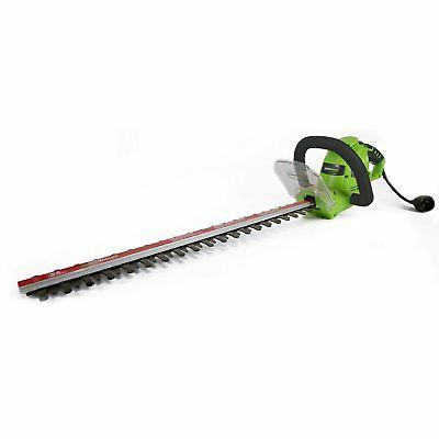 Greenworks 22122 4 Amp 22 in. Dual Action Electric Hedge Tri