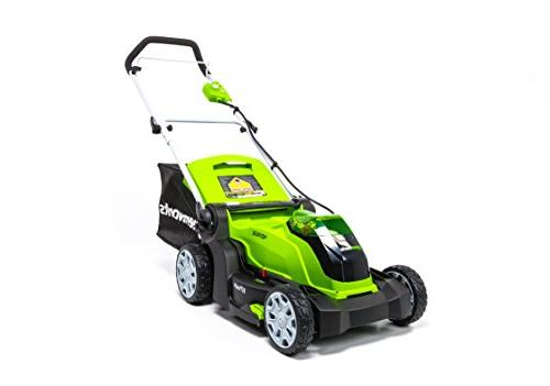 2506402 cordless brushed mower care
