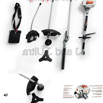 26CC Cycle in Multi Hedge Trimmer , Edger Attachment and Cutter Blade Harness