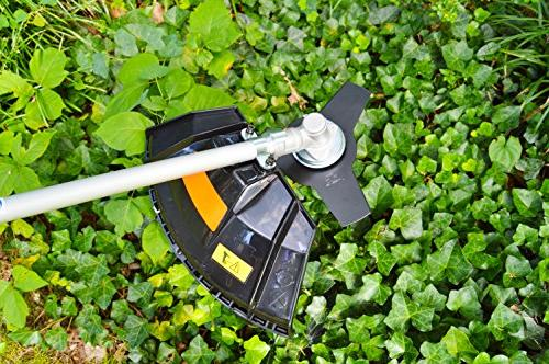 26CC 2 in Grass Trimmer with Brush Cutter blade Harness