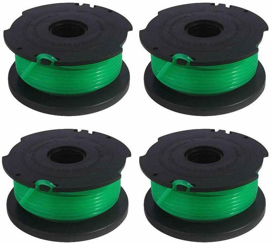4 pk string trimmer spools compatible