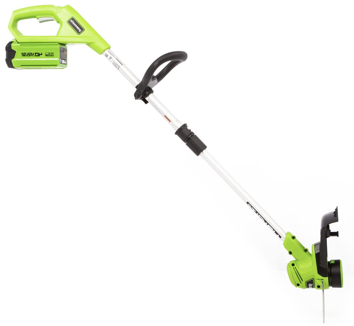 """Greenworks 12"""" Cordless Weed STF309 Tool Only Battery"""