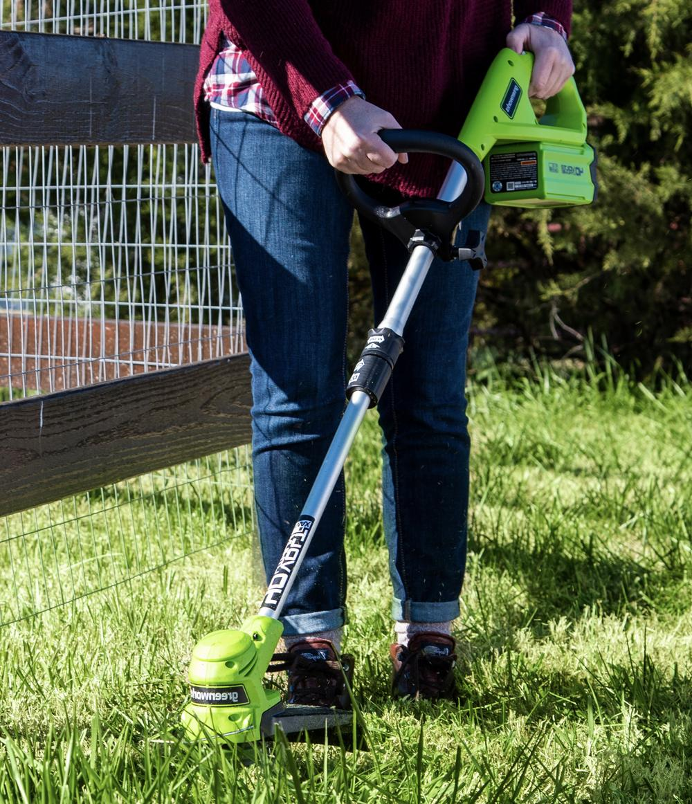 40v 12 cordless weed trimmer stf309 211170