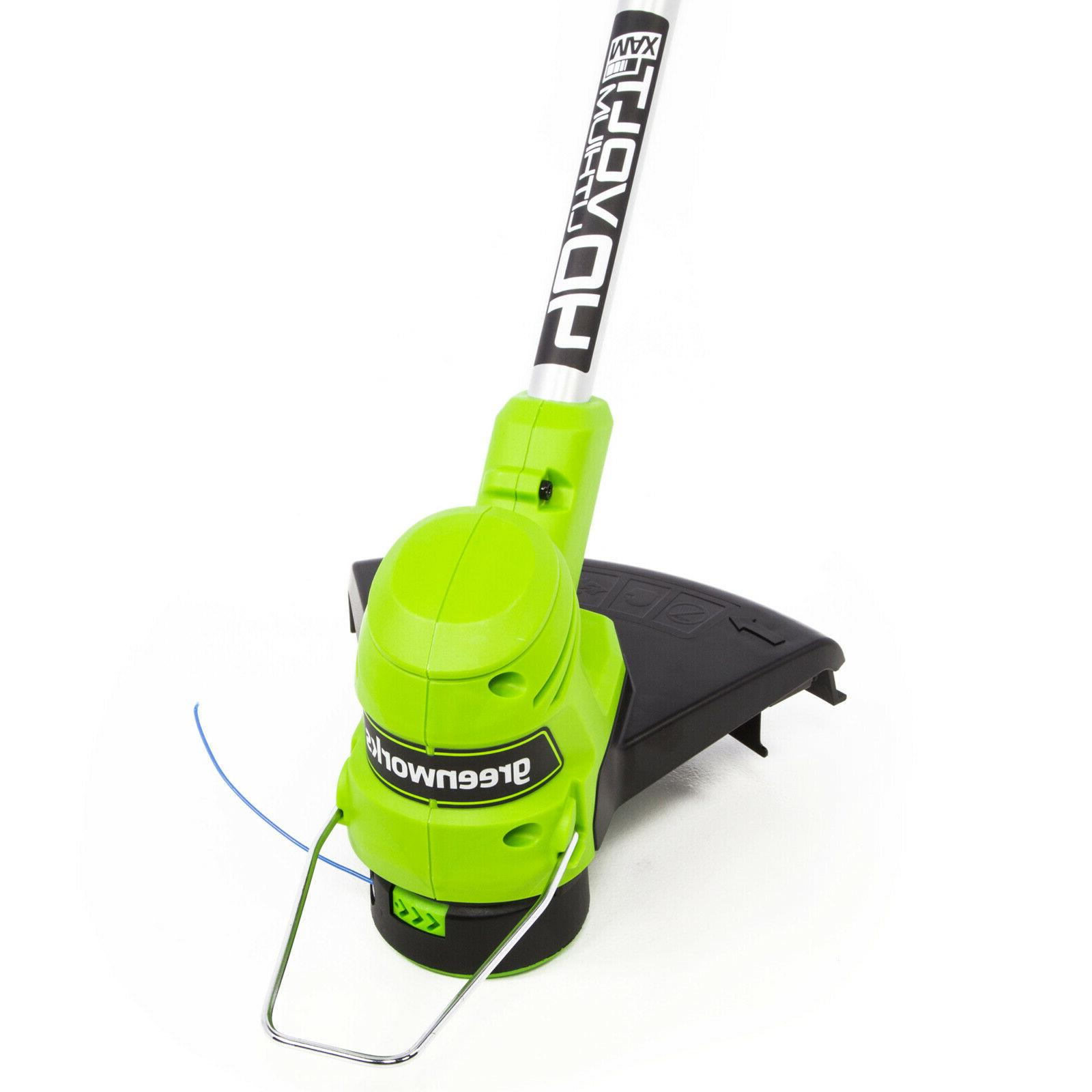 Greenworks String Trimmer 2.0 and Charger