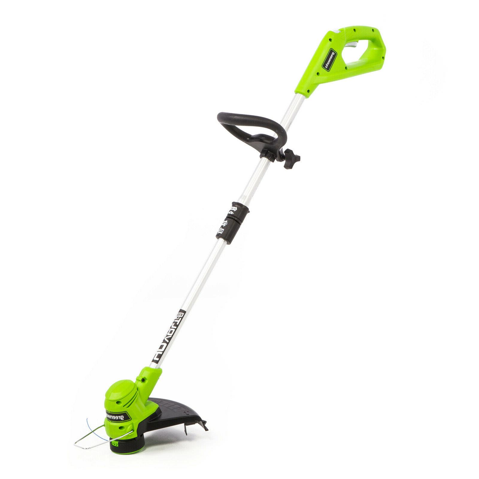 Greenworks 40V 12-Inch Trimmer 2.0 Ah and Charger