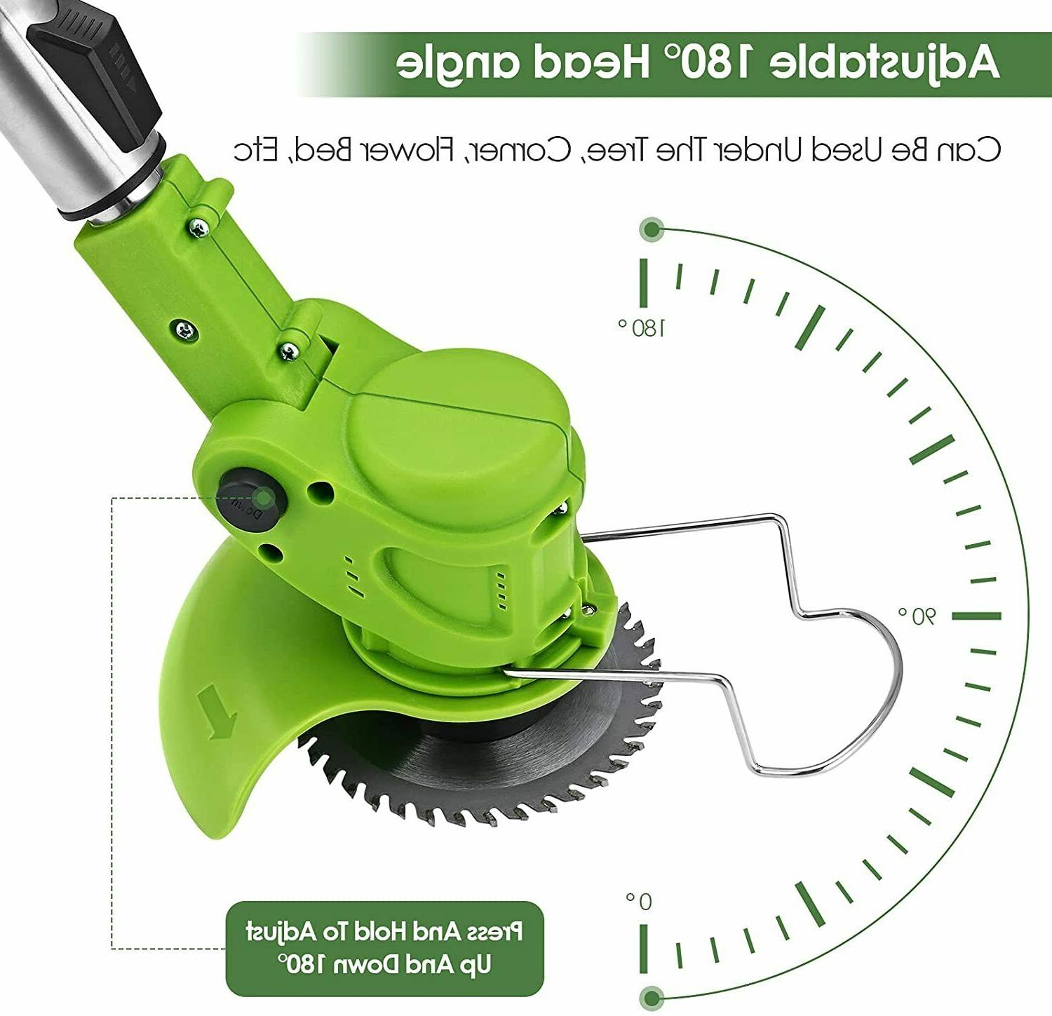 450W Electric Weed Eater Lawn Edger String Cutter US