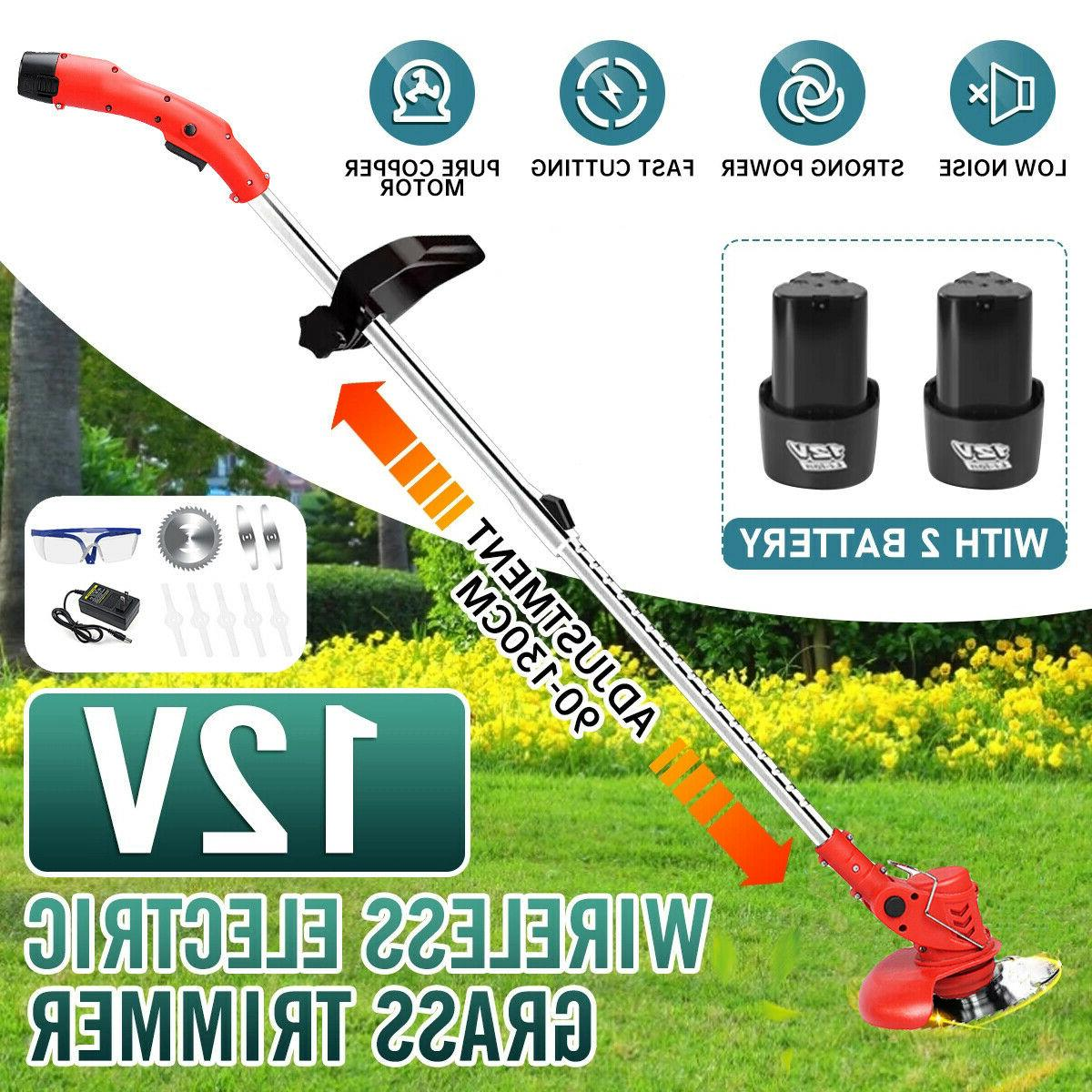 450w electric weed eater lawn edger cordless