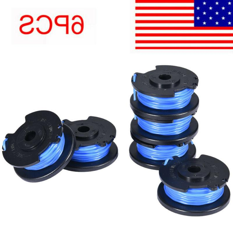 6 pack string trimmer replace spools line
