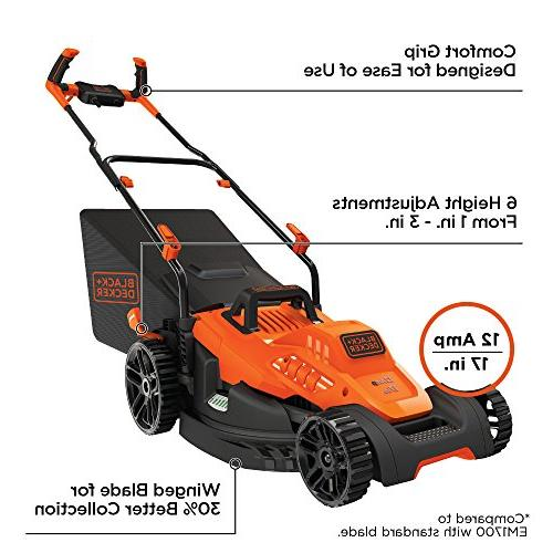 bemw482bh electric lawn mower