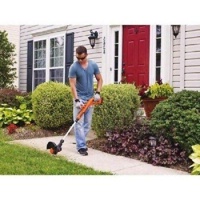 black and decker 20v cordless grass lawn
