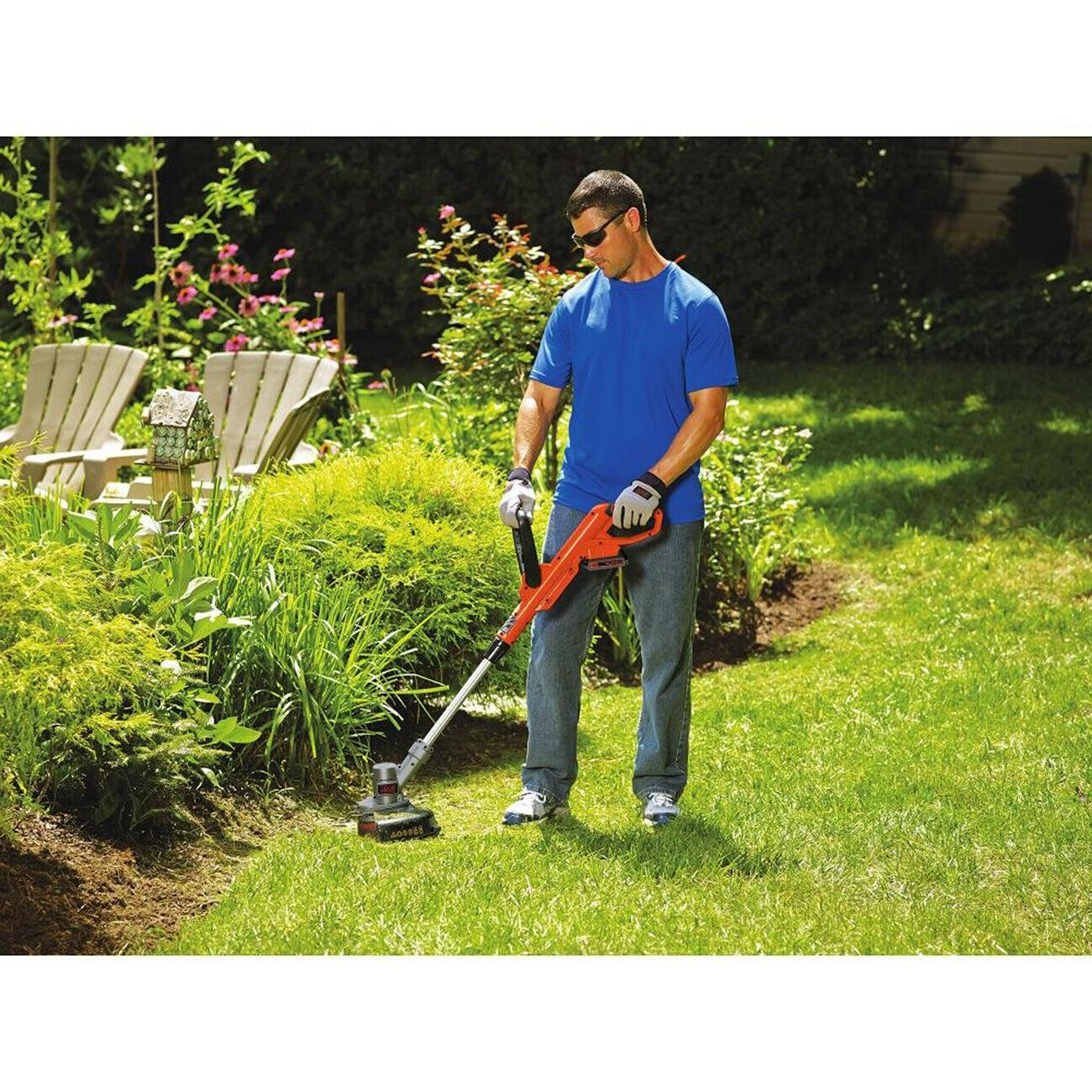 "Black and Decker Weed Eater Grass Trimmer Edger 12"" New"