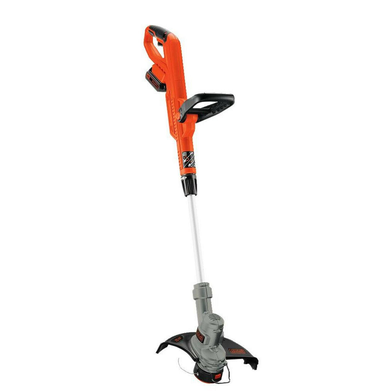 Black Decker Cordless Weed Eater String Trimmer Edger New