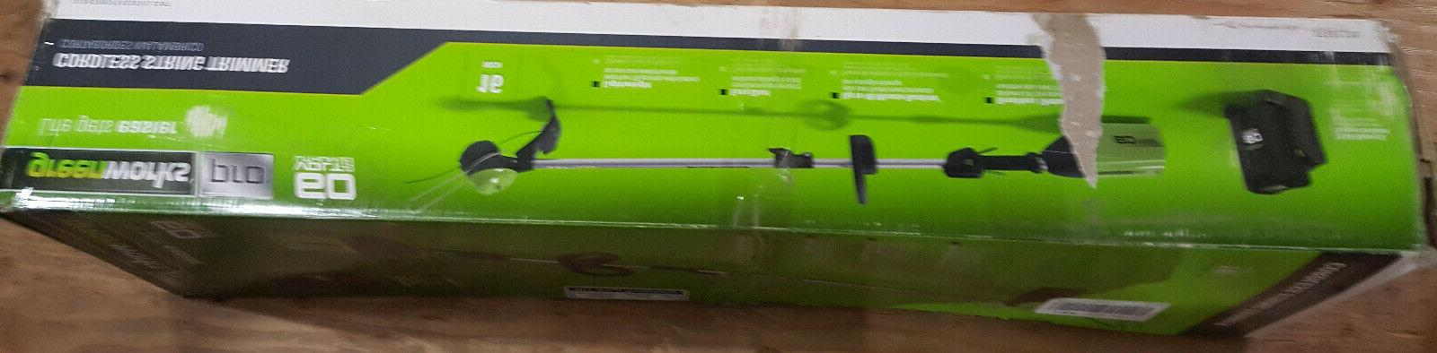 BRAND NEW volt CORDLESS weed string trimmer