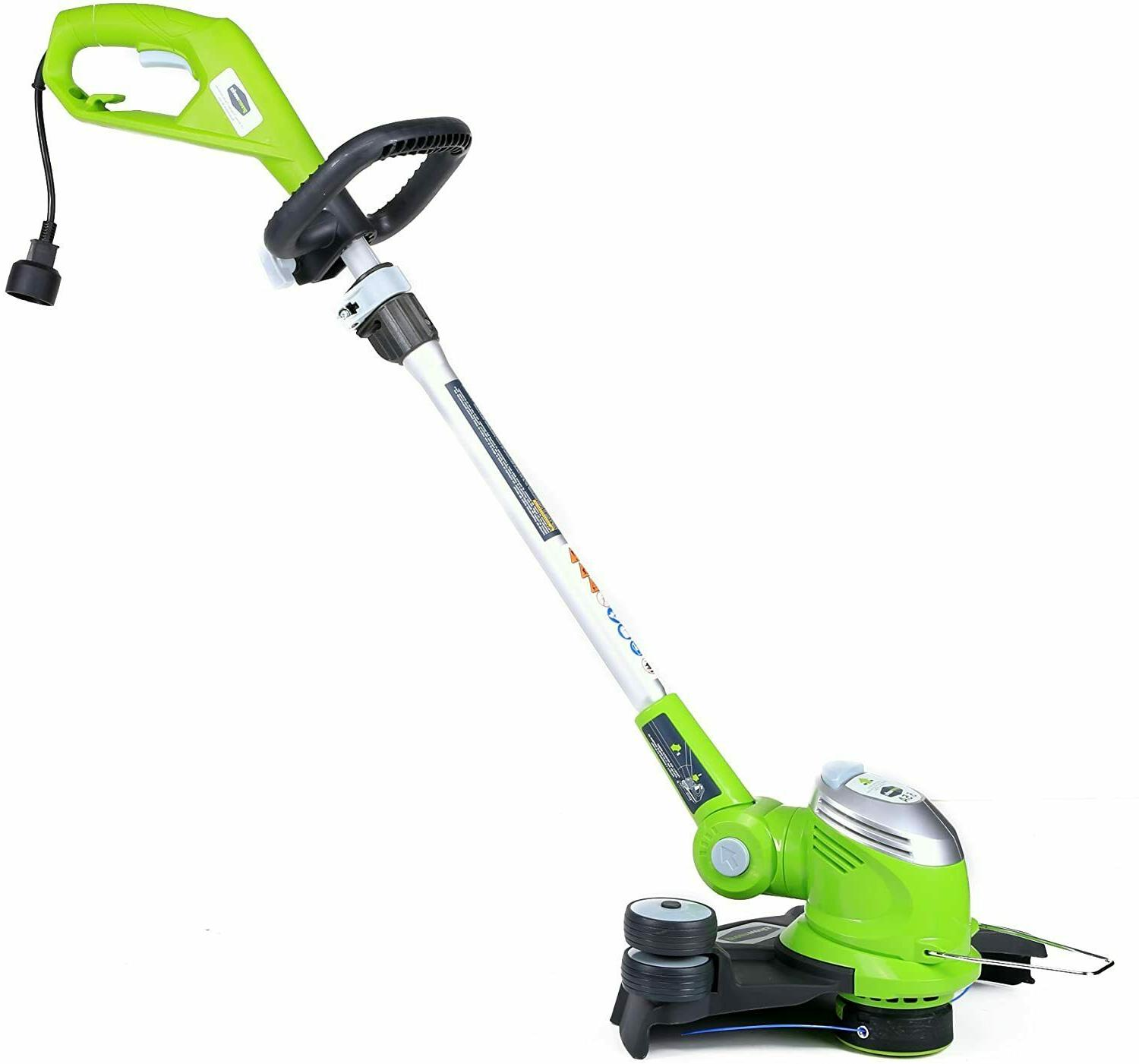 Electric Weed Eater Wacker String Grass Trimmer Cutter Lawn