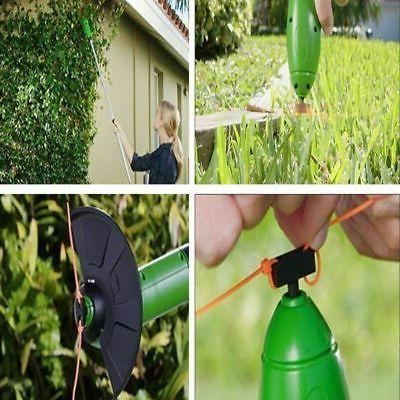 electric portable cordless grass trimmer cutter lawn