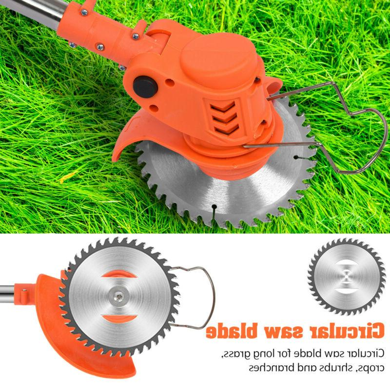 Cordless Grass Trimmer Edge Trimmer Trimming Lawn Weed Eater