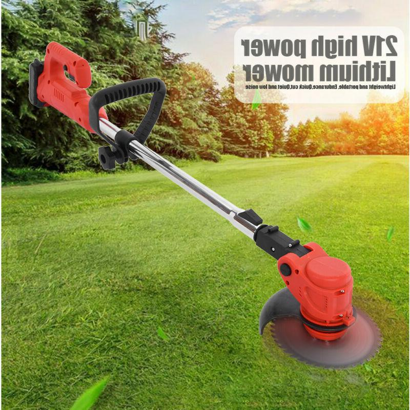 Cordless String Grass Trimmer W/ Lithiumion Battery