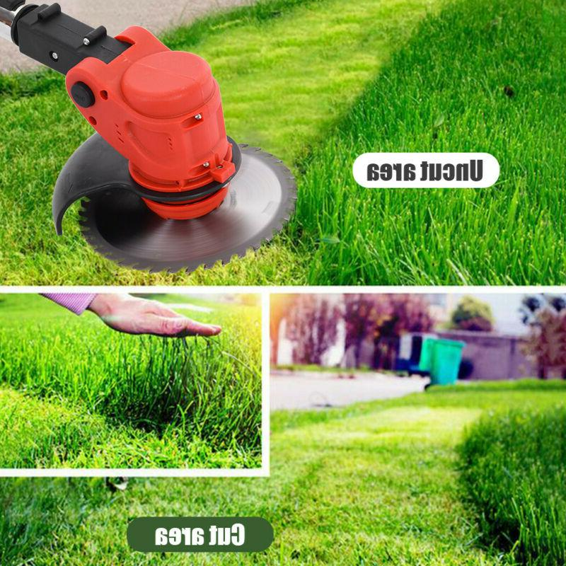 Cordless String Lawn Mower Grass Trimmer Weed W/ 24V