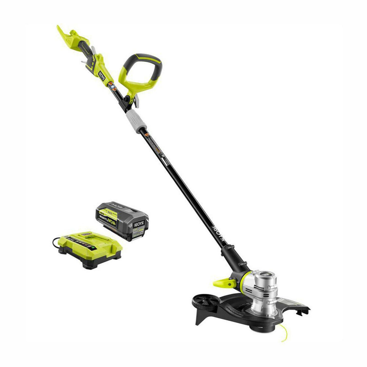 cordless string trimmer edger lawn weed wacker