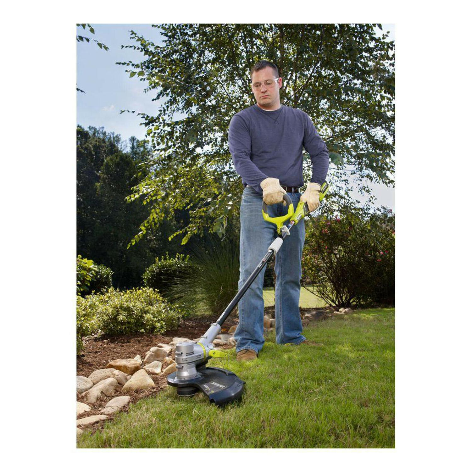 CORDLESS STRING TRIMMER Ryobi Wacker w/ and Charger