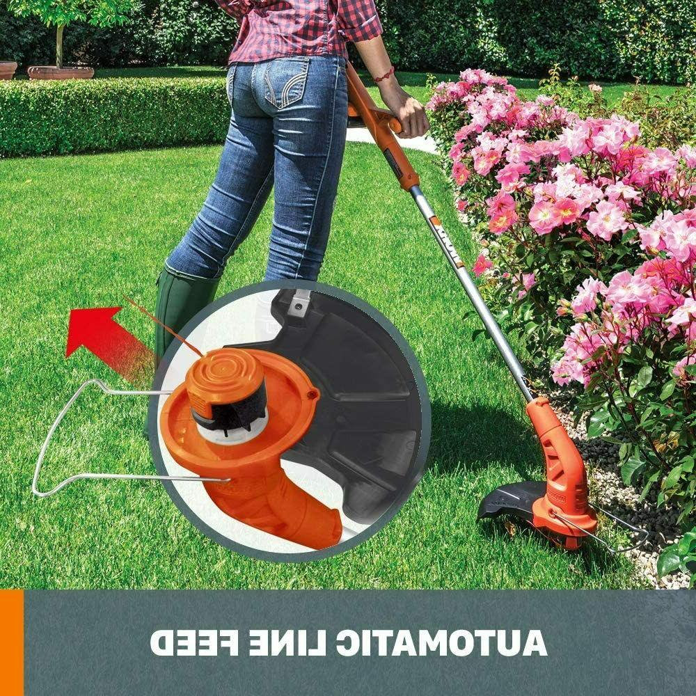 Cordless String Weed Whacker Battery Powered With