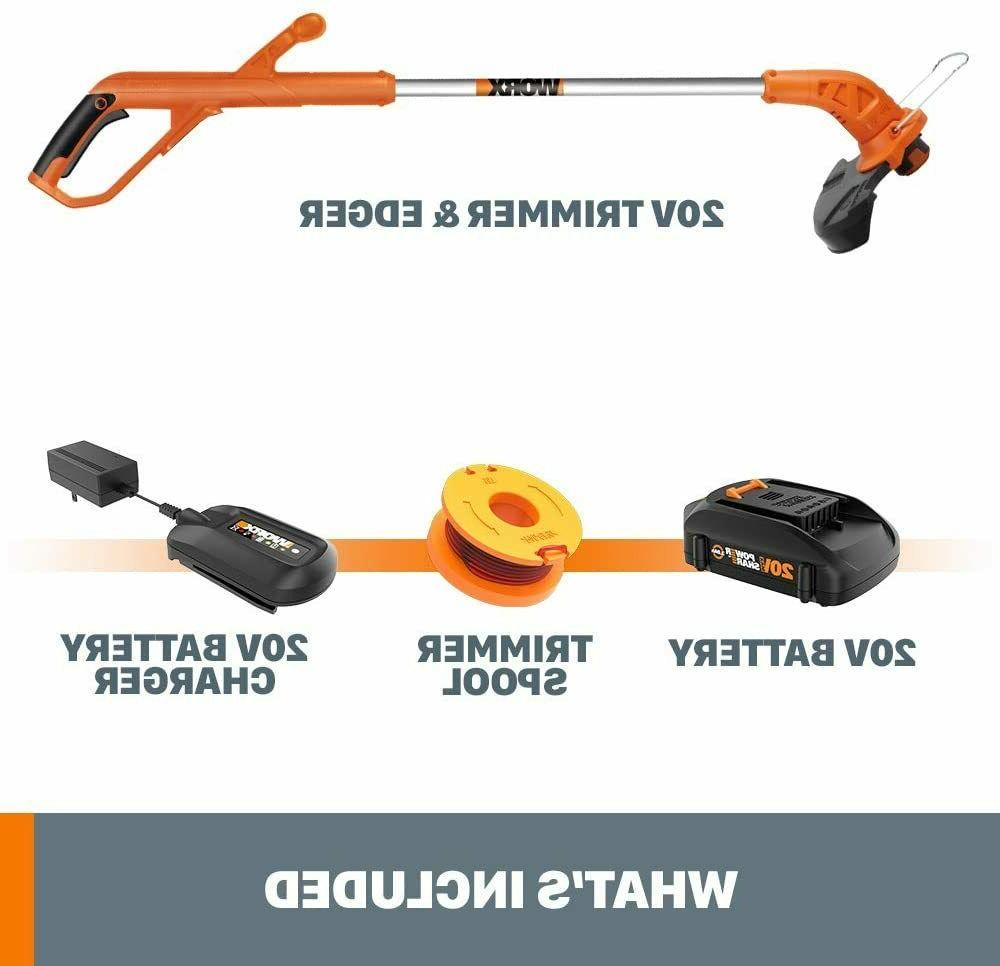 Cordless String Weed Eater Battery Powered Charger