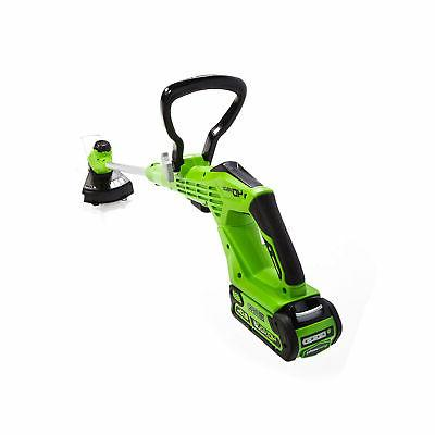 Cordless String Trimmer Grass Weed Home Landscape Battery Included 40V