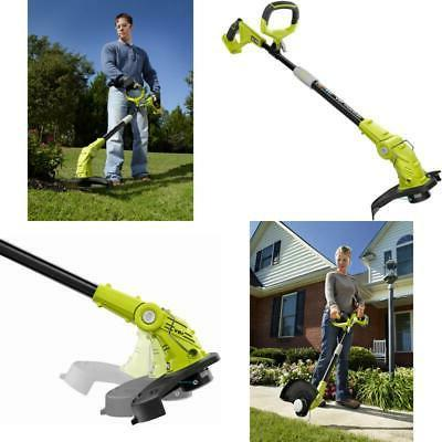 Cordless String Trimmer Lawn Edger Grass Cutter Electric Wee