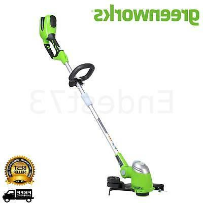 cordless string trimmer weed eater grass edger