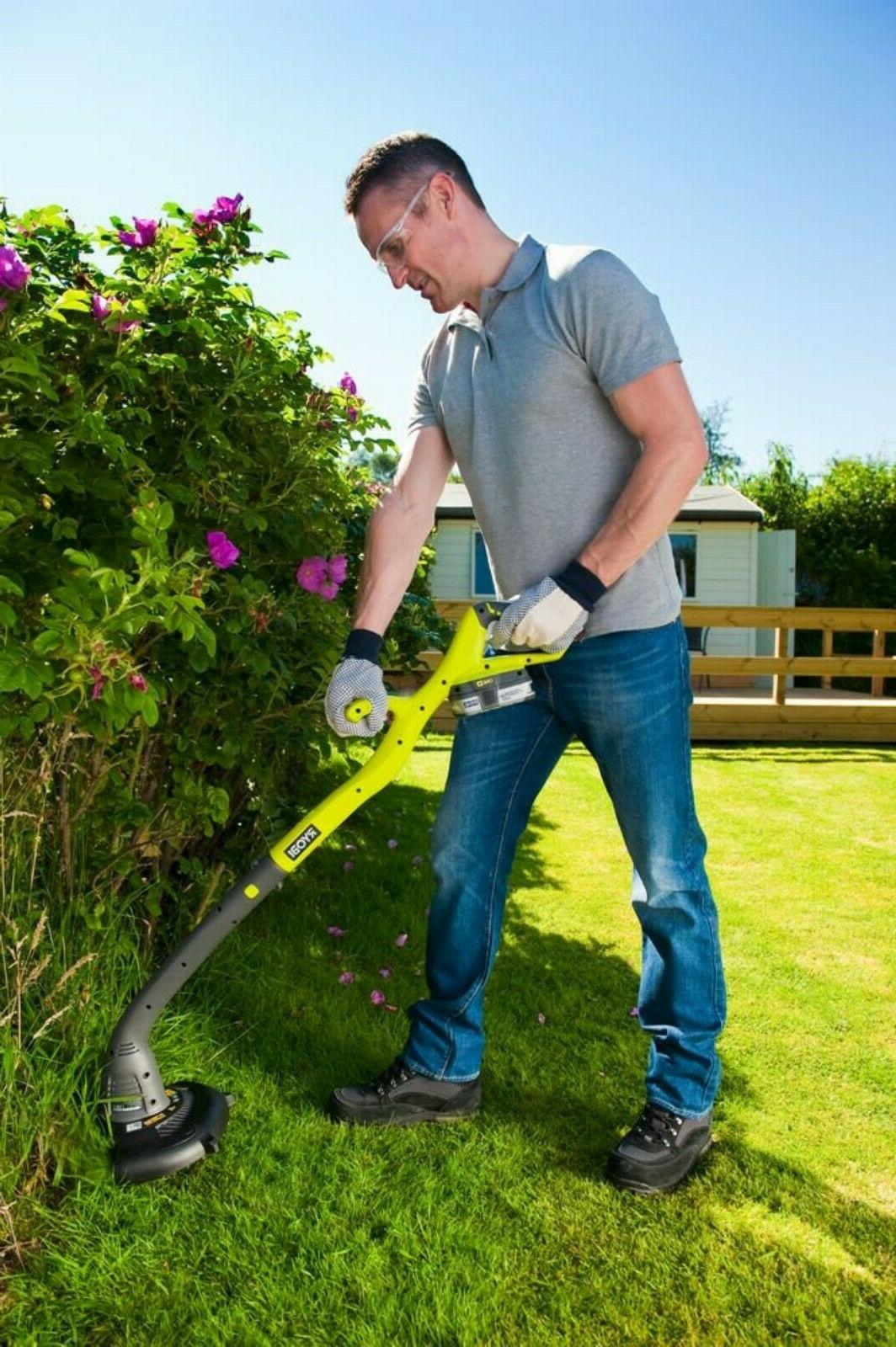 Ryobi Weed Edger Outdoor Lawn Trimming