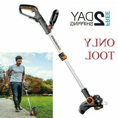 cordless string trimmer without battery tool only